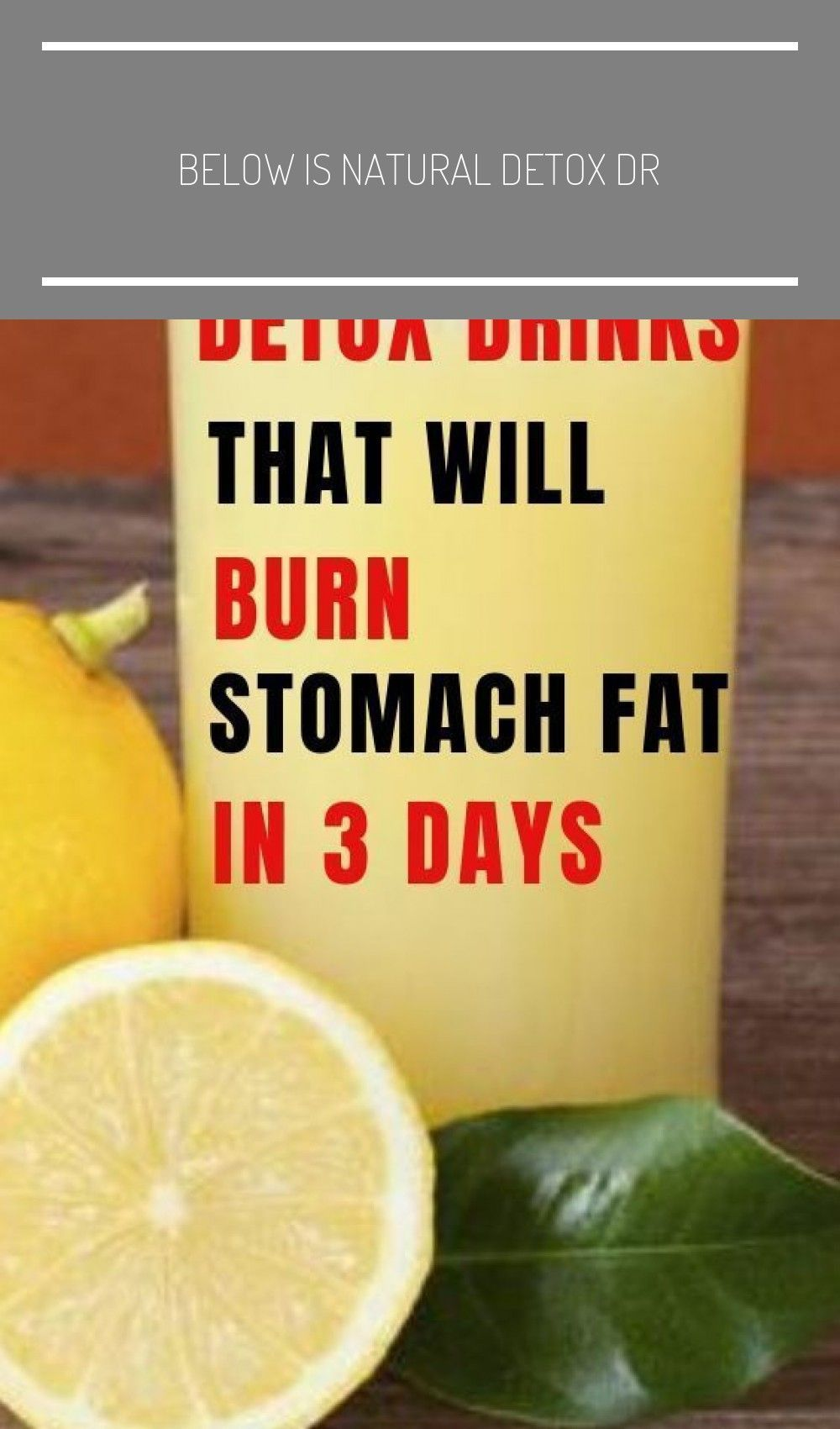 Pin auf detox drink