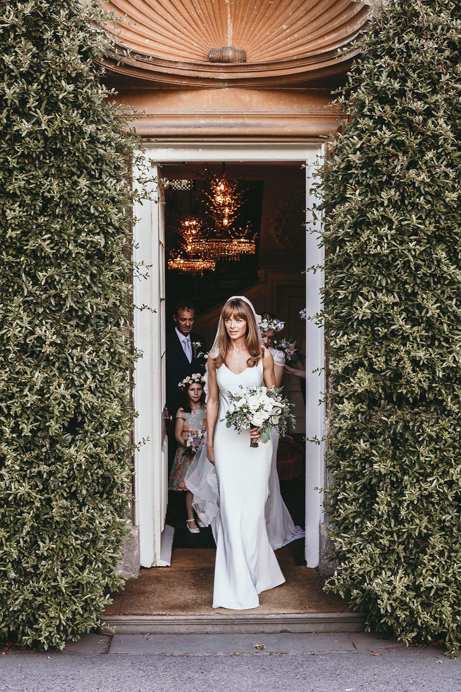 Babington House Somerset With Bride In Mirror Mirror London ...