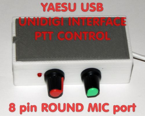 compatible with yaesu ft-840 (transceivers not included) and all other  models with 8pin round mic connector and rca audio out