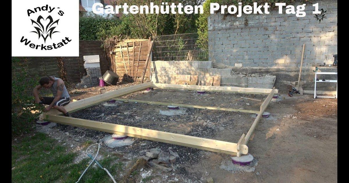 Gartenhaus Punktfundament Abstand Ladder