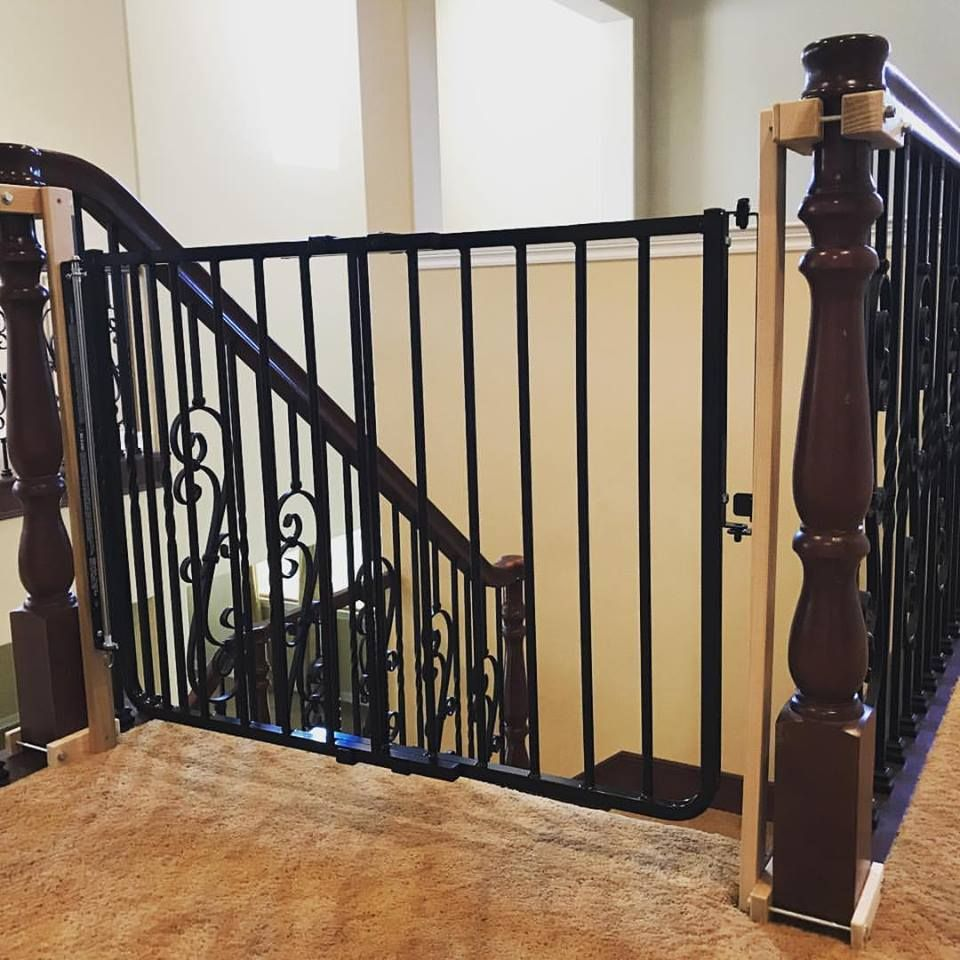 Image Of The Best Baby Gate For Top Of Stairs Design That You Must Apply Best Baby Gates Stair Gate Safety Gates For Stairs