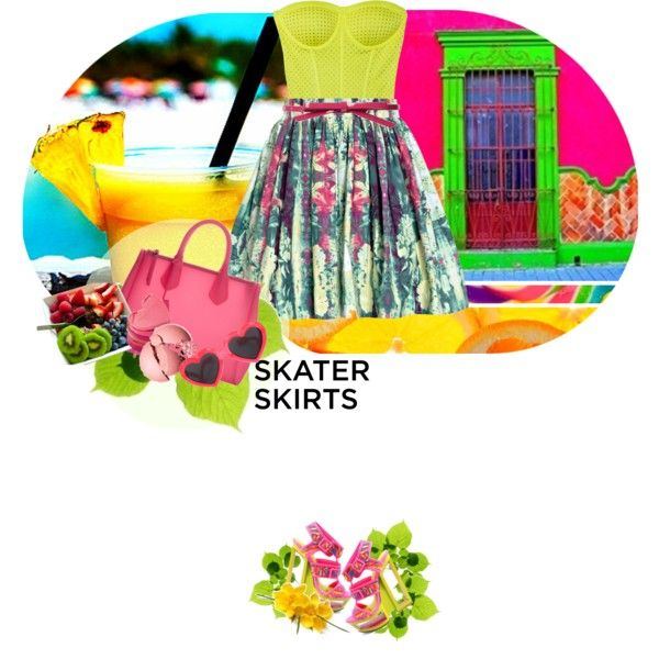 """""""How Do You Style Skater Skirts?"""" by ladysnape on Polyvore"""