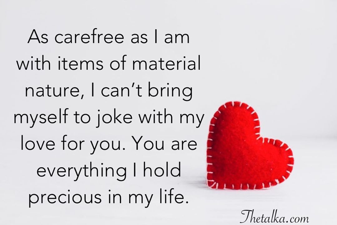For messages touching her love 100 Heart