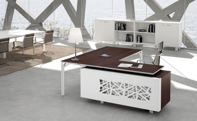 ordinary contemporary office furniture desk 1 | modern office desk