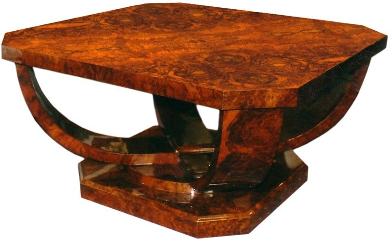 TABA 21A DPG - Round coffee table with four arms cut sections - Coffee table - Patrick Gaguech - The collections