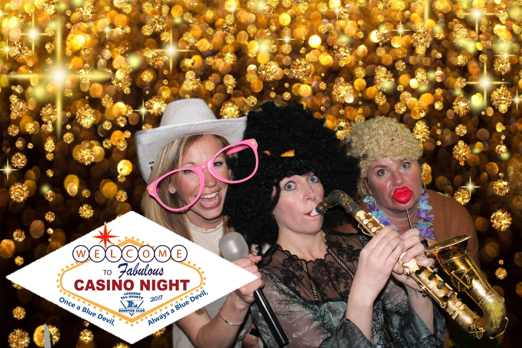 Blues casino night