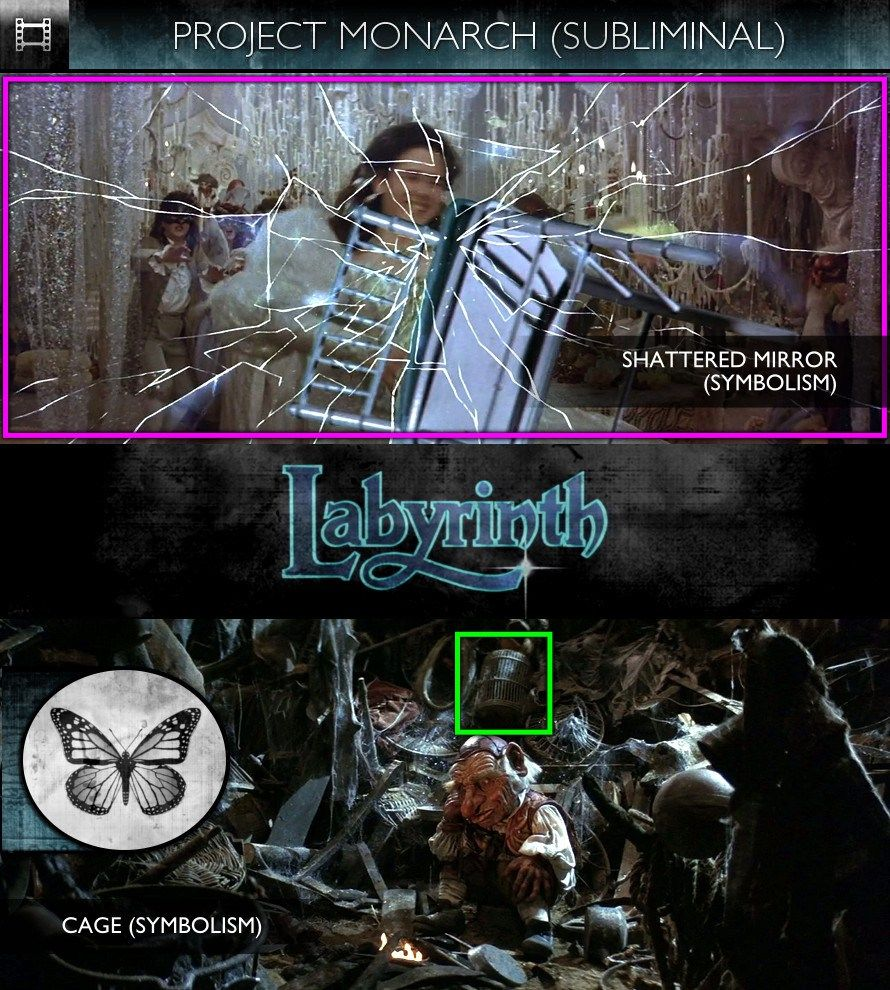 Page 4 (Subliminals) Behind the scenes, Labyrinth 1986