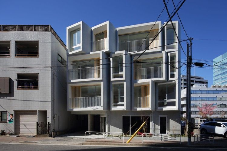 Osha Apartment Building Suep Architecture Walk Up