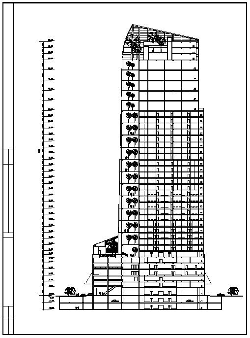 Architectural Drawings Of Skyscrapers skyscraper design – cad design | free cad blocks,drawings,details