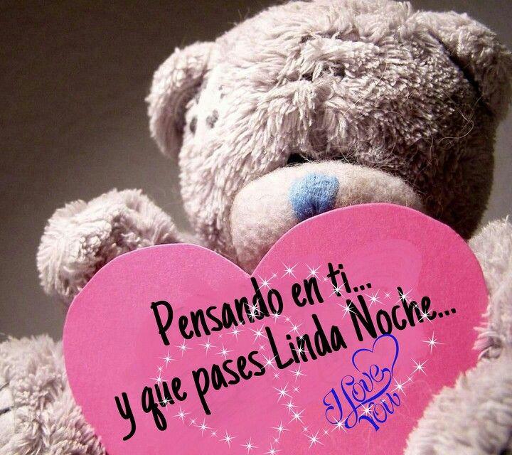 Pensando en ti | Happy valentines day, Good night quotes ...