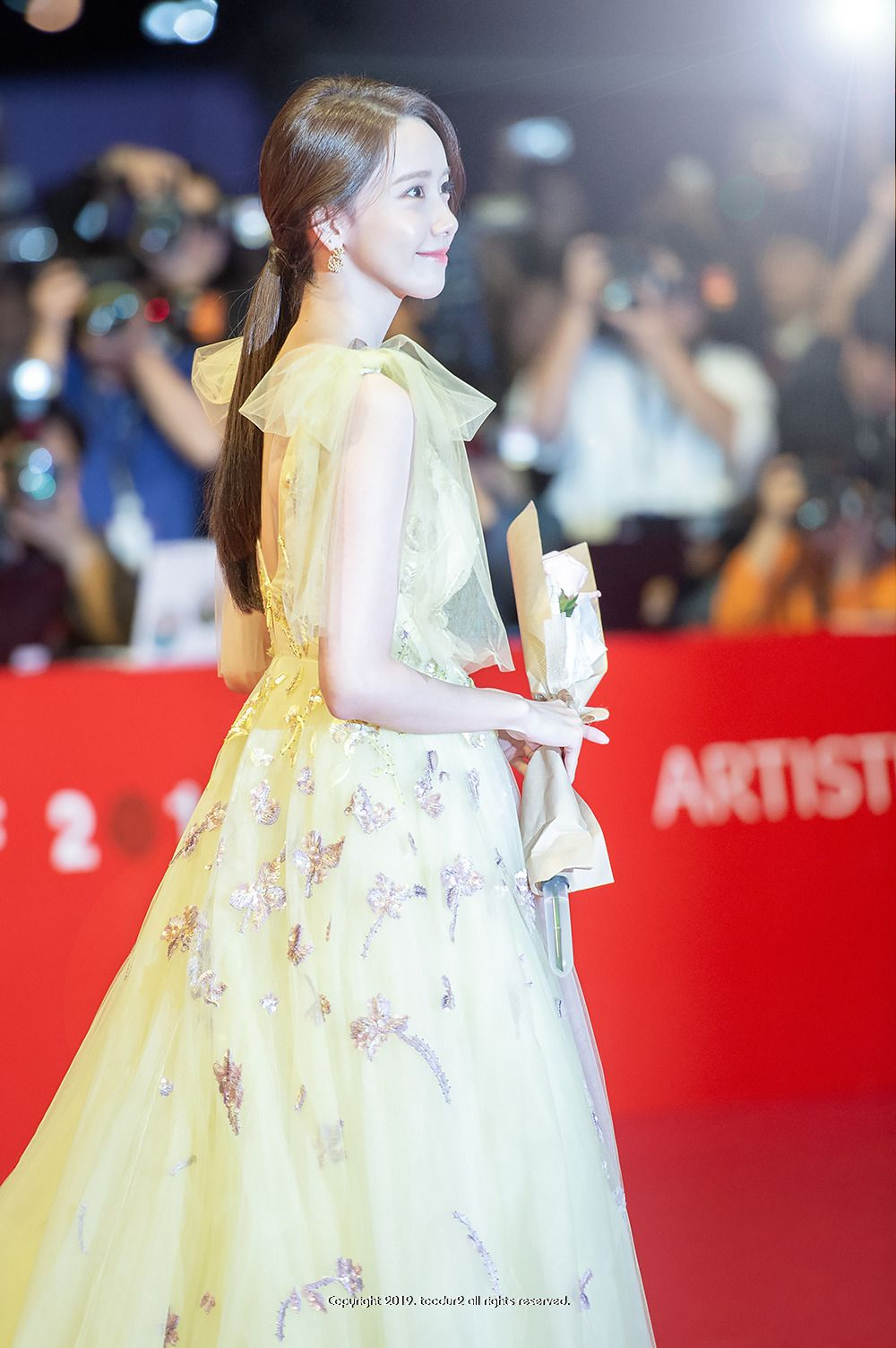 191003 Yoona 24th Busan International Film Festival Red
