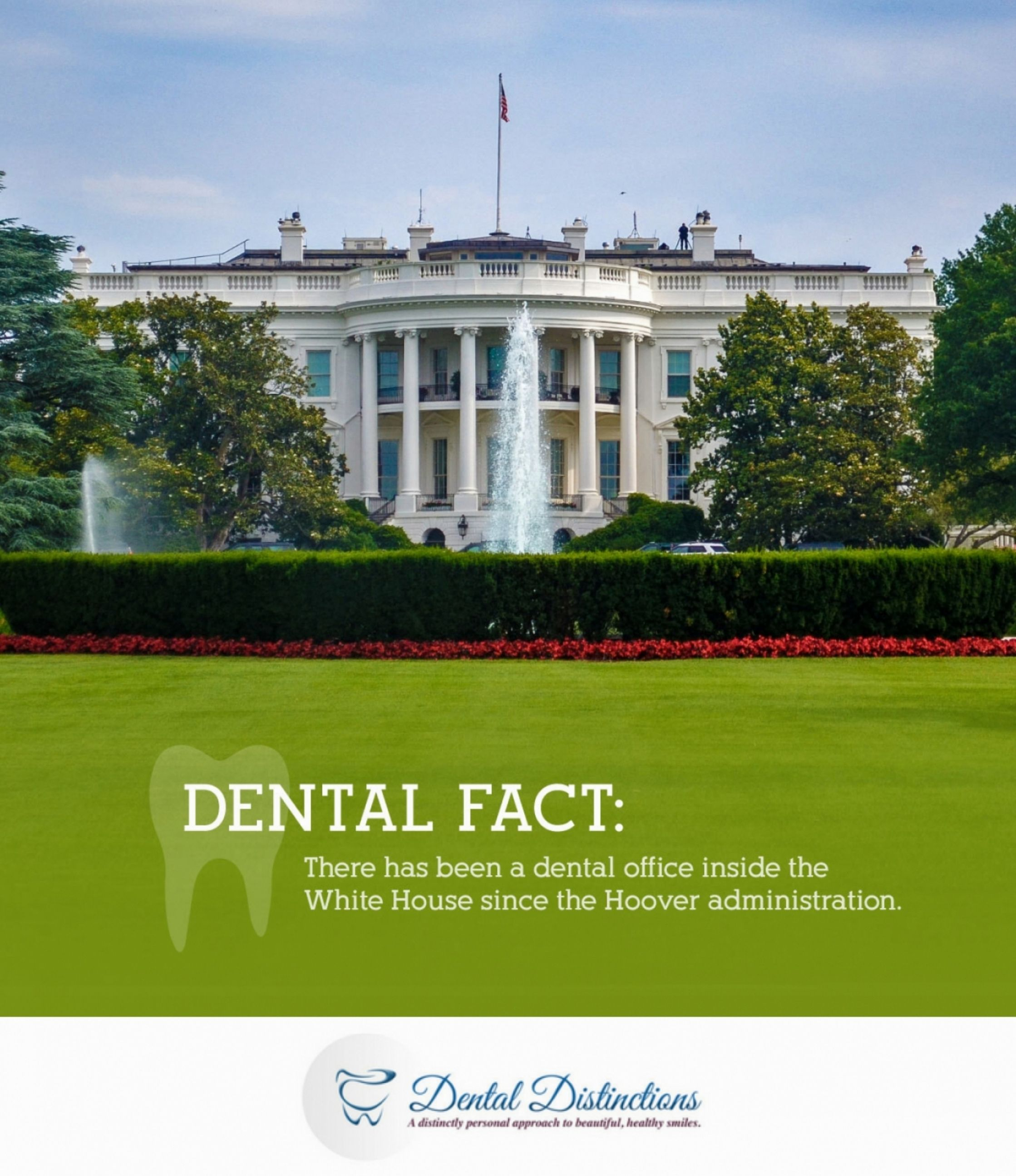 Think Your Dental Office Is Pretty Close Try The White House