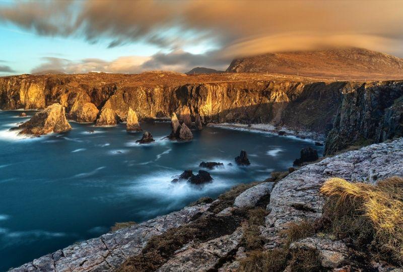 Earth Coastline Scotland Nature Cliff HD Wallpaper – Wallpaper | Grab Wallpapers… 4K