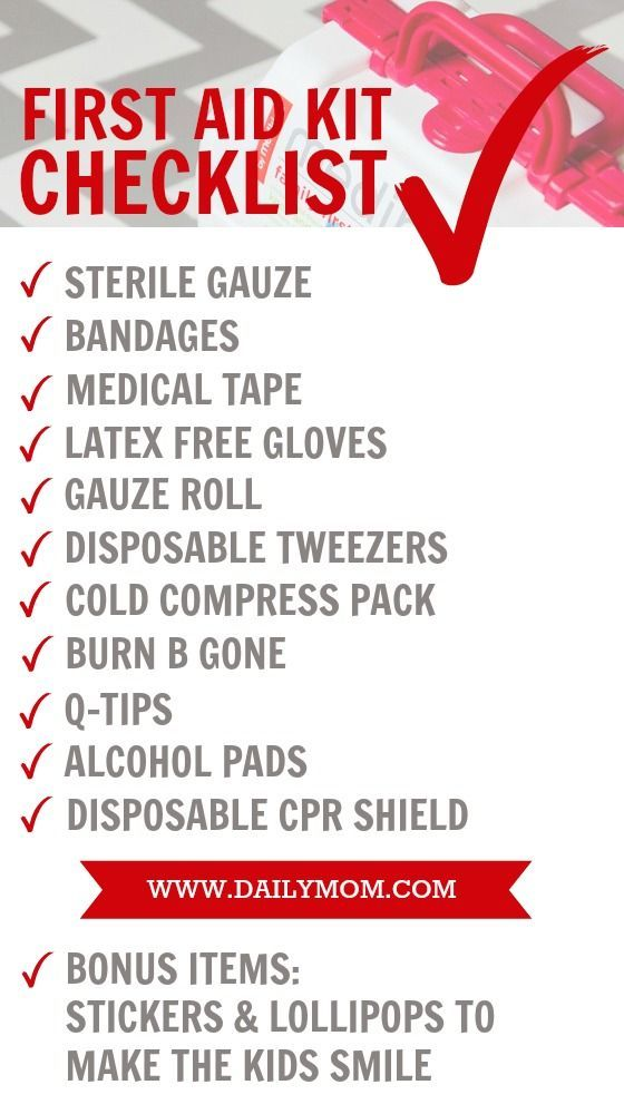 Mommy S First Aid Kit Essentials Read Now First Aid Kit Checklist Babysitting Kit Diy First Aid Kit