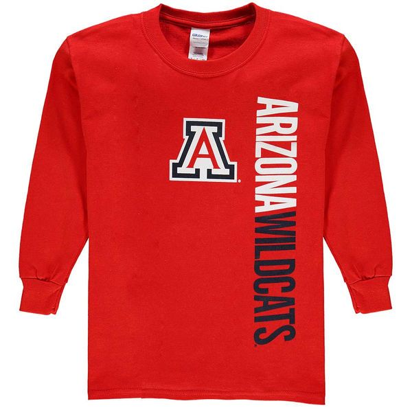 Arizona Wildcats New Agenda Youth Fusion Long Sleeve T-Shirt - Red - $14.99