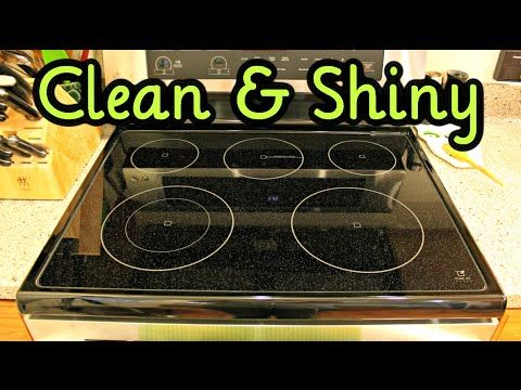 How To Clean Kitchen Glass Stove Top With Baking Soda And Peroxide