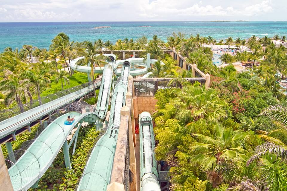 View From The Power Tower At Atlantis Bahamas Bahamas