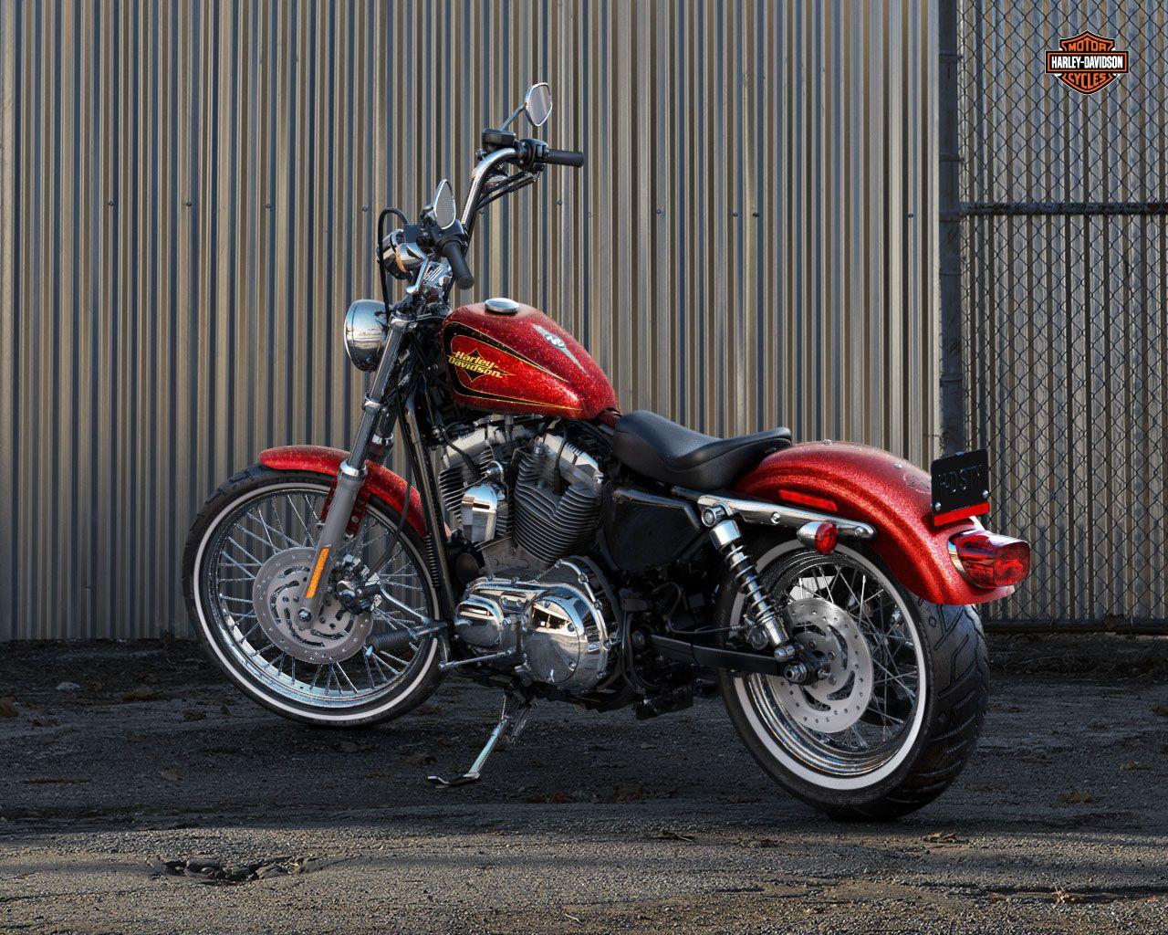 2013 sportster seventy two red