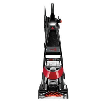 Bissell Proheat 1887 Essential Upright Carpet Cleaner In Black Red