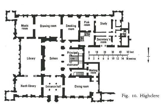 Highclere Castle Floor Plan: The Real Downton Abbey | Country houses