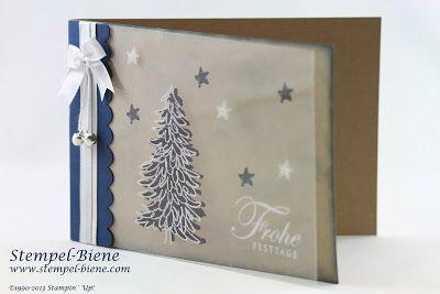weihnachtskarte immergr n evergreen stampin up. Black Bedroom Furniture Sets. Home Design Ideas
