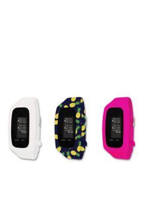 B FIT WATCH  Tracker LCD Interchangeable Watch