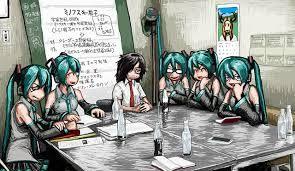 Resultado de imagen para el episodio del anime miku hatsune 1