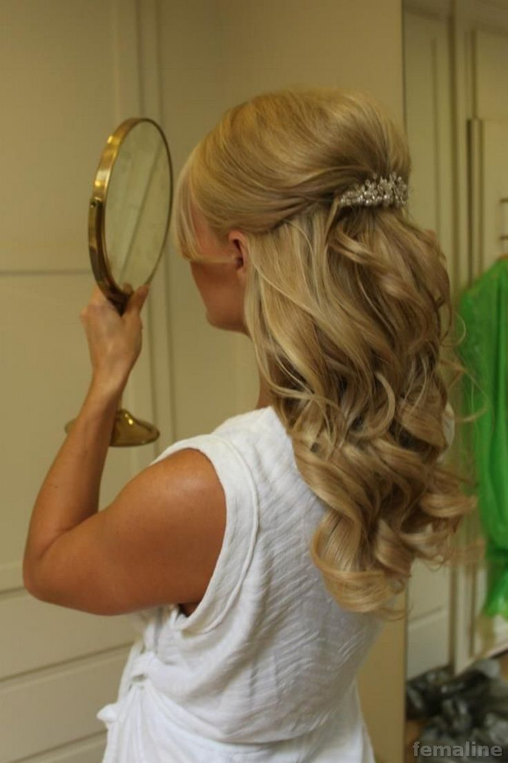 wedding hairstyle for medium hair down for downing pinterest