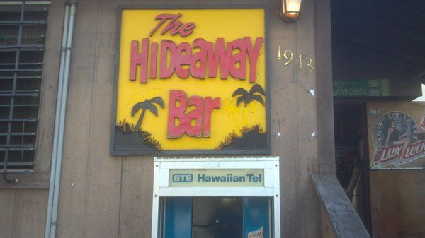 "Visit a local ""dive"" bar for a small taste of home."