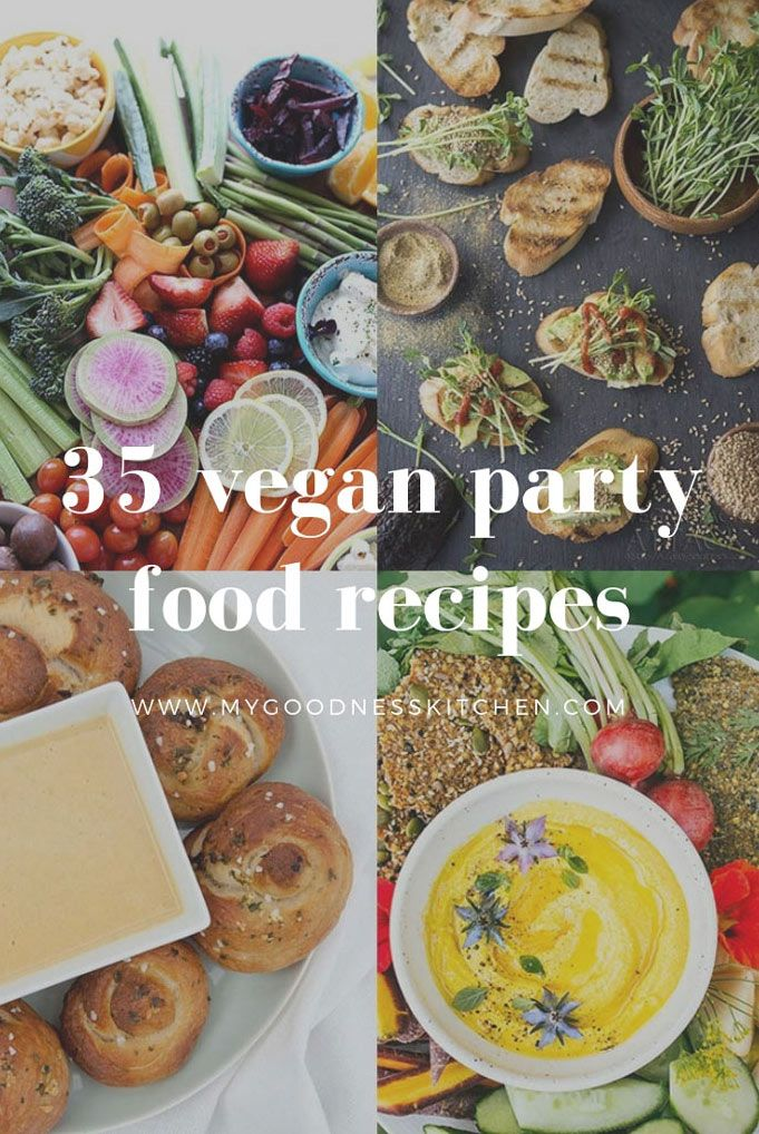 35 Vegan Party Food Recipes images