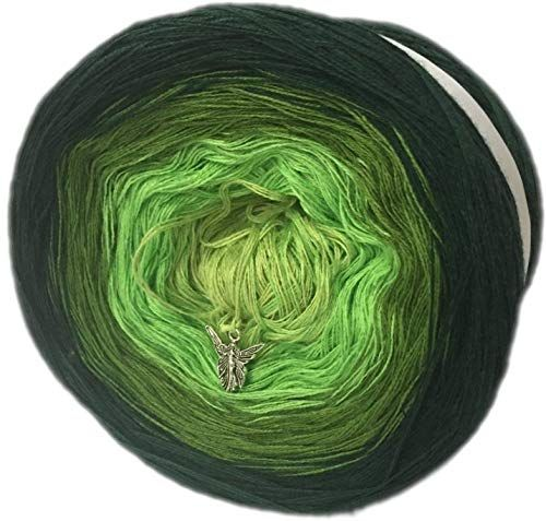 Farbverlaufsgarn 200 Gramm LL ca. 1000 Meter 4 Farben No. 361 (Grundpreis EUR 8,00/100 Gramm) exoticsamen Samenraritä...
