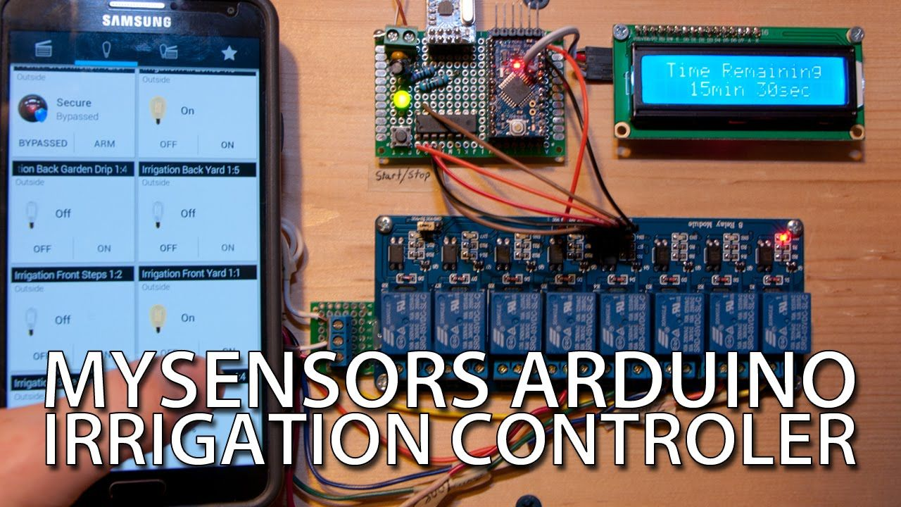 How to cheap diy arduino irrigation controller with mysensors how to cheap diy arduino irrigation controller with mysensors solutioingenieria Image collections