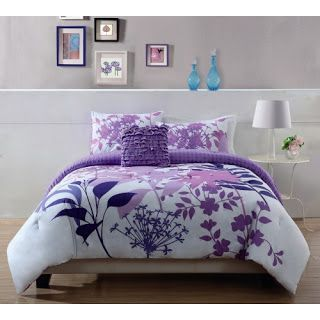 50 Purple Bedroom Ideas With Images Comforter Sets Purple