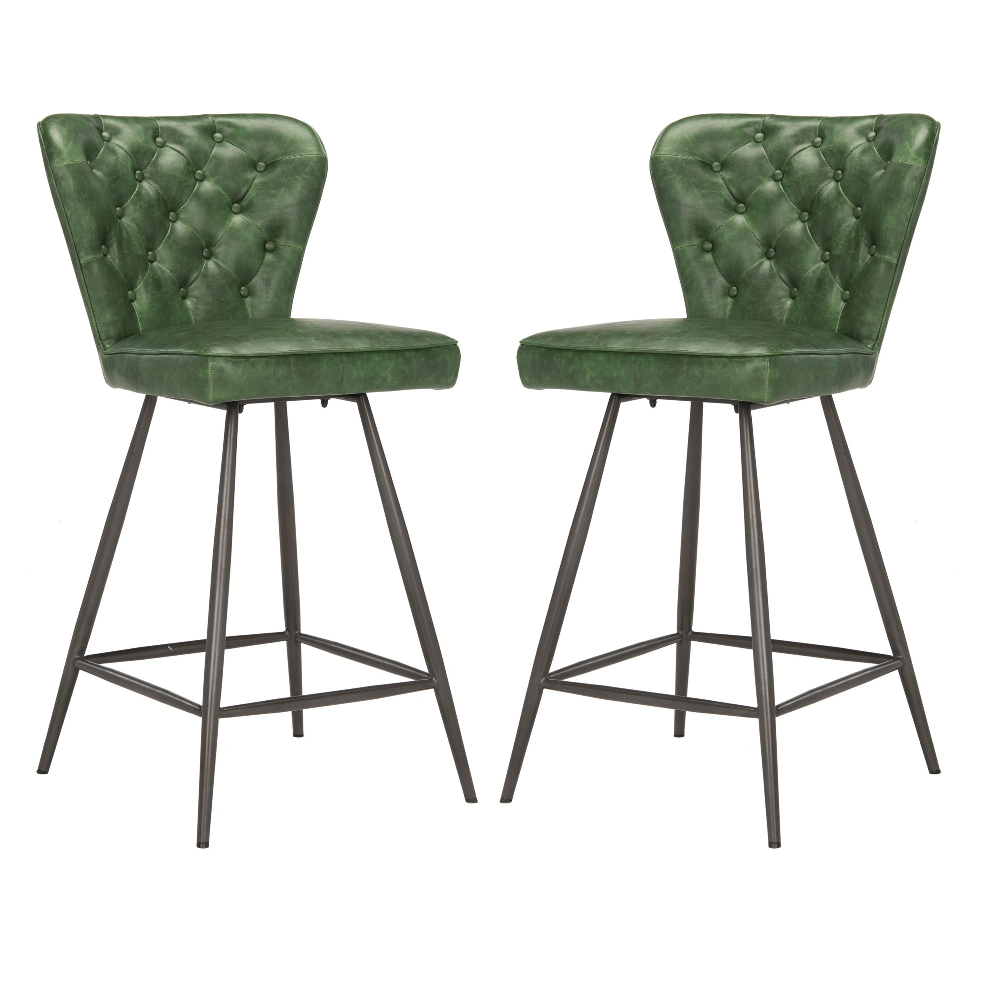 Counter and bar stools green safavieh