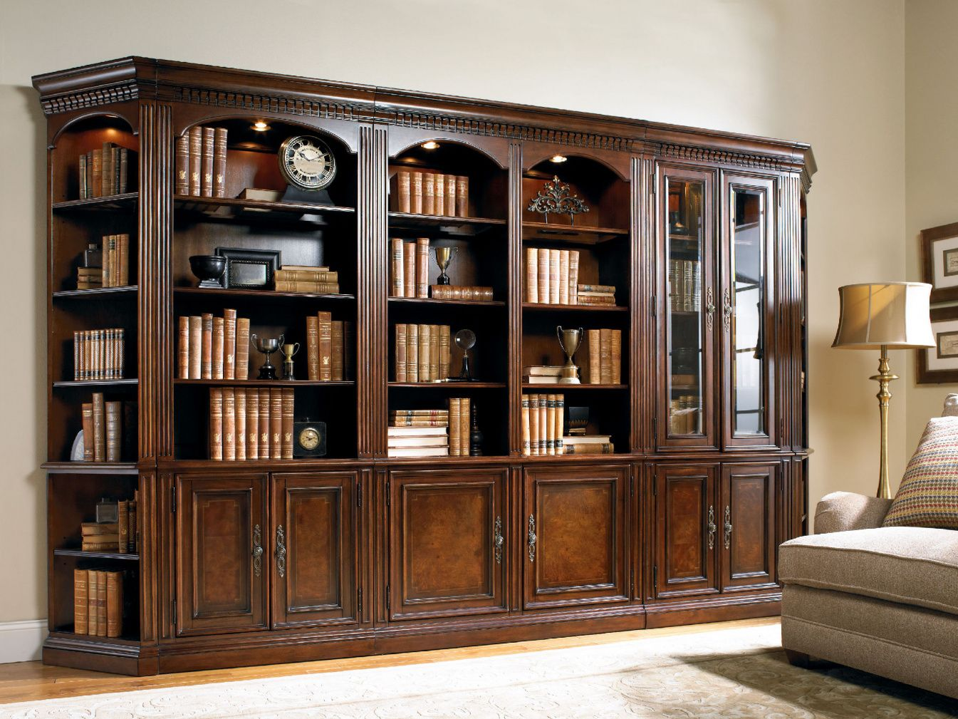 Cherry bookcase with glass doors best home office furniture cherry bookcase with glass doors best home office furniture check more at http planetlyrics Images