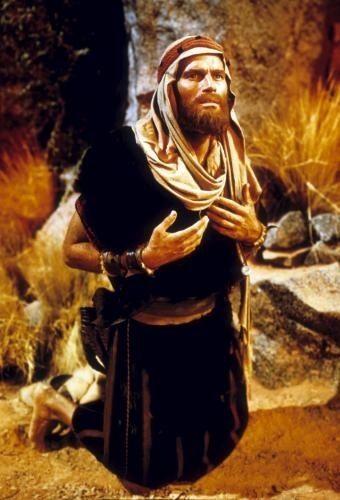 The Ten Commandments 1956 Moses At The Burning Bush The Bible Movie The 10 Commandments Movie Epic Film