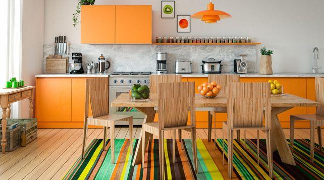 Welche Farbe Eignet Sich Für Die Küche? #farben #farbgestaltung #kueche