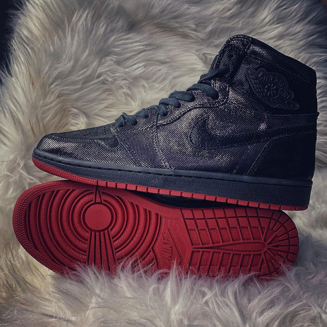 newest collection 23de5 70cc8 These Jordan 1 Come Outfitted With Ballistic Mesh Uppers