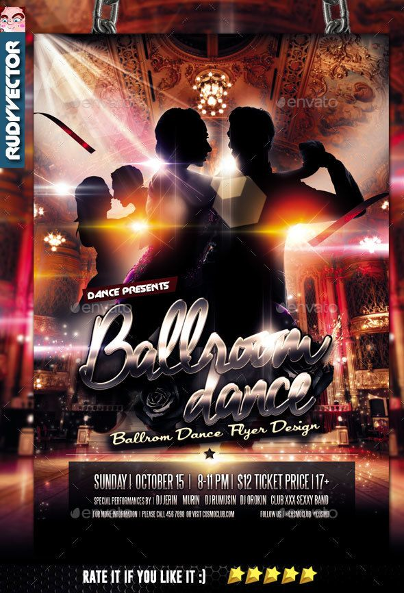 Ballroom Dance Flyer Pinterest Ballroom Dance Ballrooms And