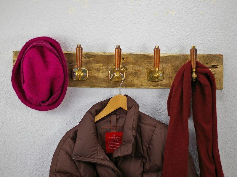 Garderobe Treibholz garderobe treibholz und türgriffe wandgarderobe