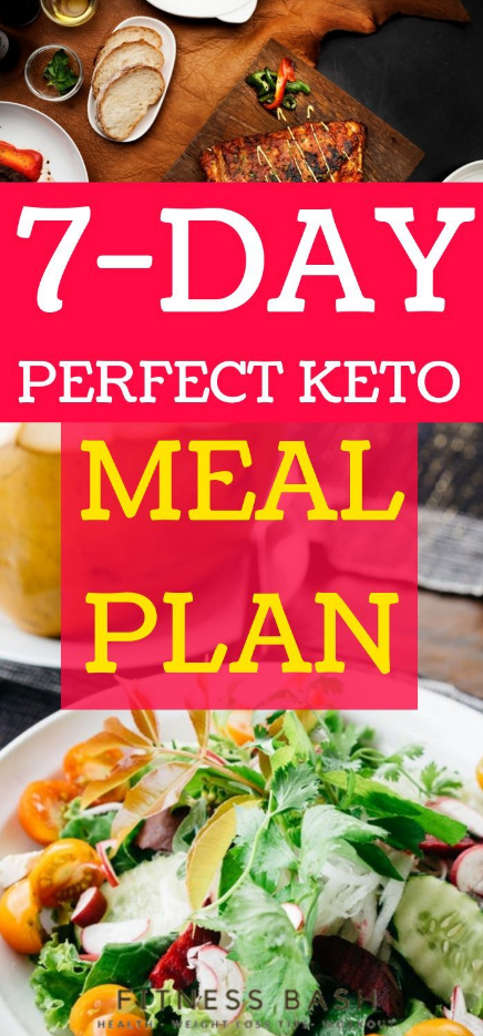7 Day Keto Meal Plan for Beginners  Fitness Bash 7 Day Keto Meal Plan for Beginners  Fitness Bash Te...