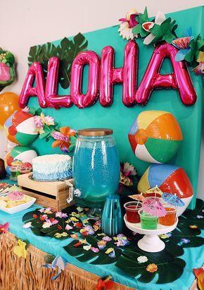 Moana Themed Party - Chanel Moving Forward #alohaparty
