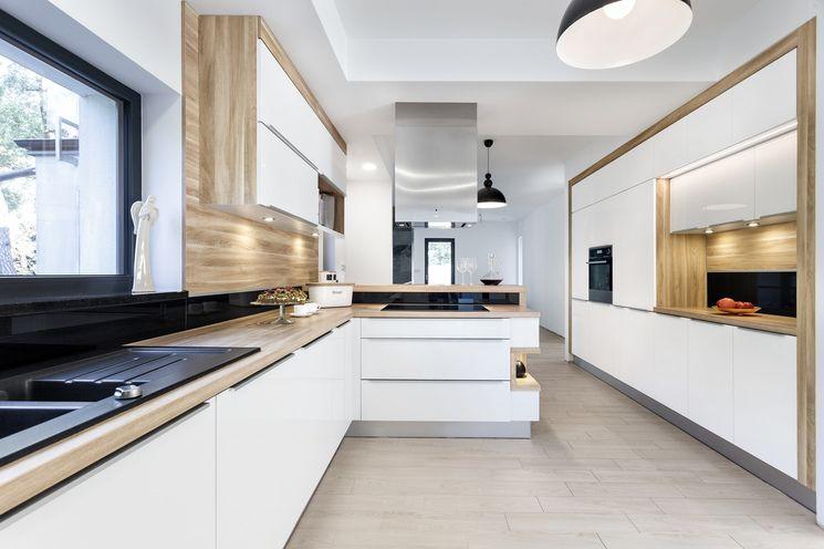 Studio Ak Chrzanów Drewniany Blat W Kuchni Luxury Kitchen