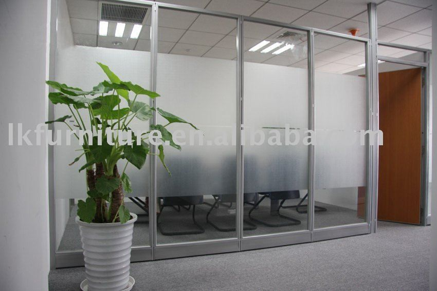 Great Design Of Office Glass Partition Wall In Aluminium Profile 675 700 Glass Wall Office Glass Partition Designs Glass Partition Wall