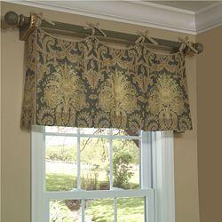 Scalloped Tie Top Valance Window Treatments Ideas Amp Diy