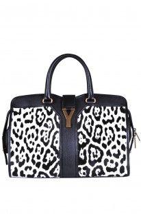 Yves Saint Laurent - Borsa Bo Cabas Chyc animalier :: Glamest Luxury Outlet Online Donna