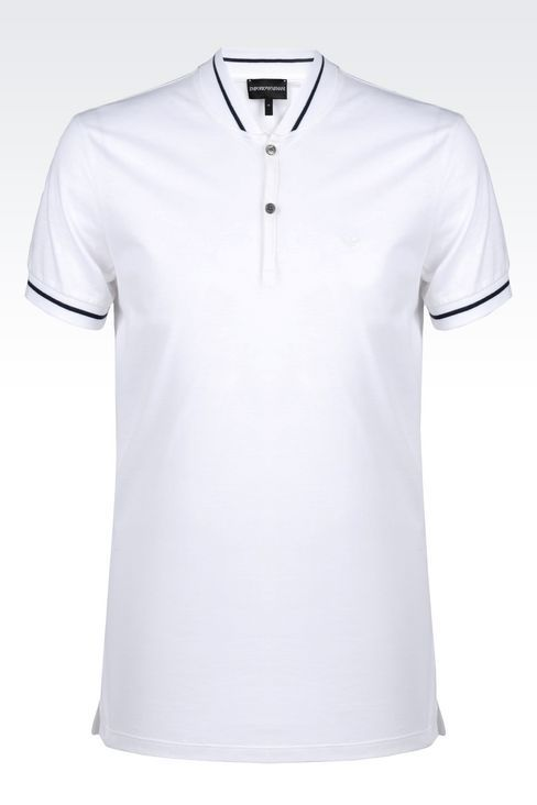c2ee1f297526 OFFICIAL STORE EMPORIO ARMANI - T-shirts - Polos manches courtes on armani .com