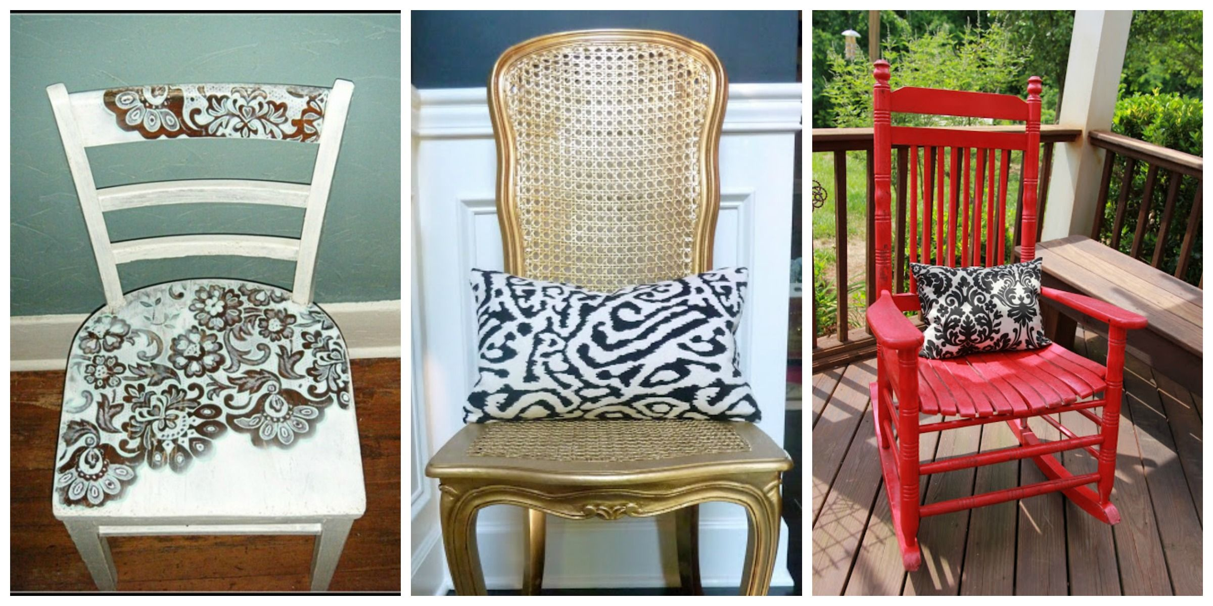 painted rocking chairs - Google Search