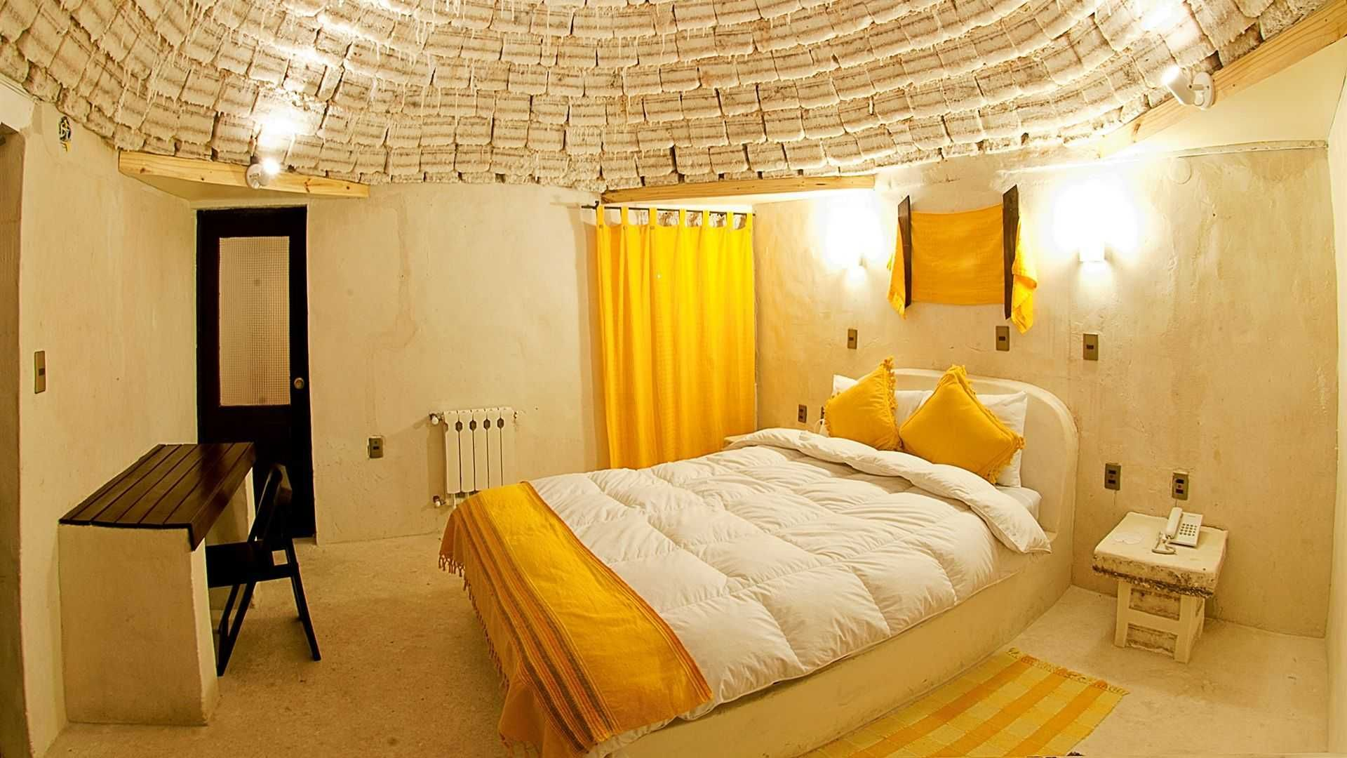 Palacio De Sal Salar De Uyuni Bolivia A Living Room A