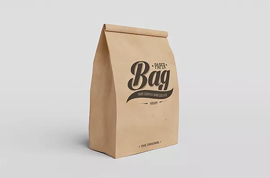 1395+ Kraft Bag Mockup Free Mockups Design
